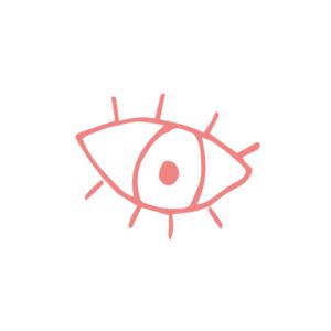 Illustration av ett öppet öga
